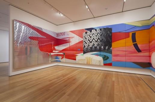 Moma James Rosenquist f111 2012 Installation