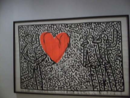 Keith Haring Heart Full