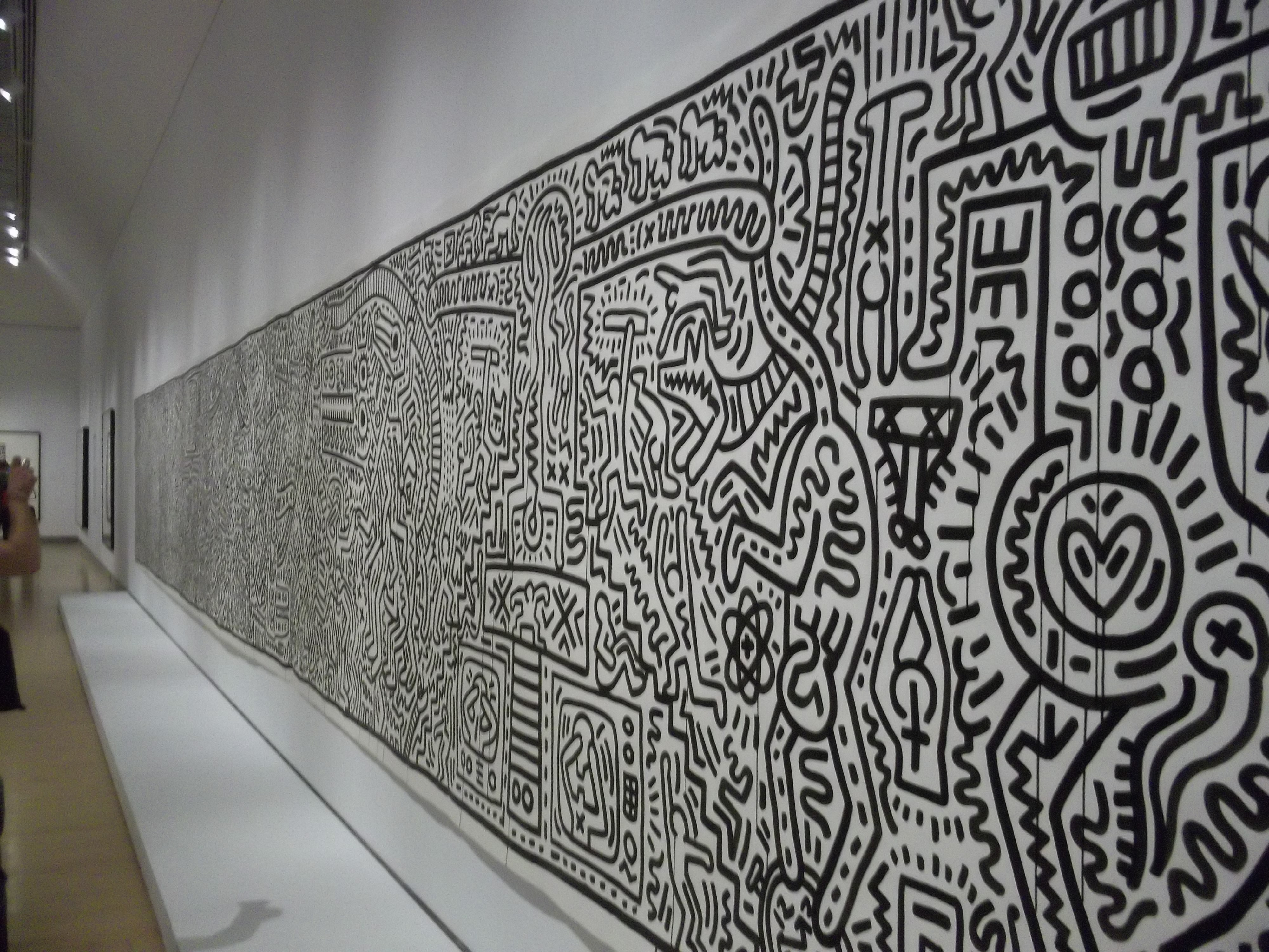 Must See Art Keith Haring 1978 1982 At The Brooklyn