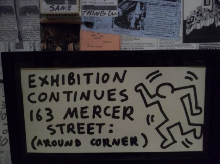 Keith Haring Flyer Wall