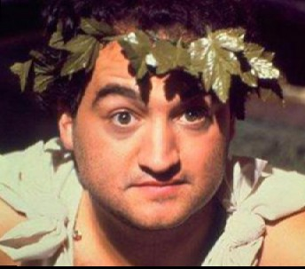 John Belushi Laurel Wreath and Toga