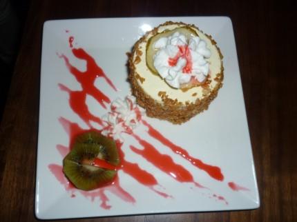 Pear Almond Torte