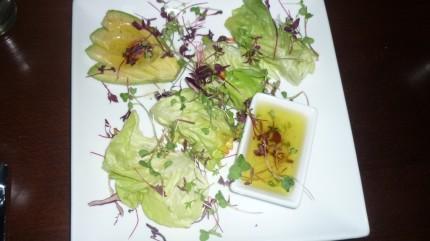 Green Leaf Salad Roll