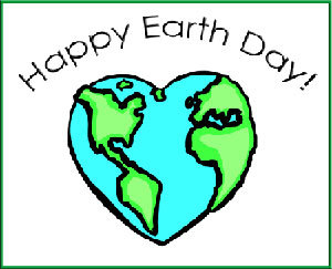 Happy Earth Day Heart