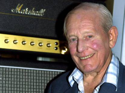 Jim Marshall with Amp