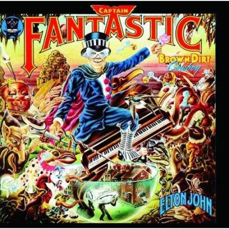 Elton John Captain Fantastic Cover