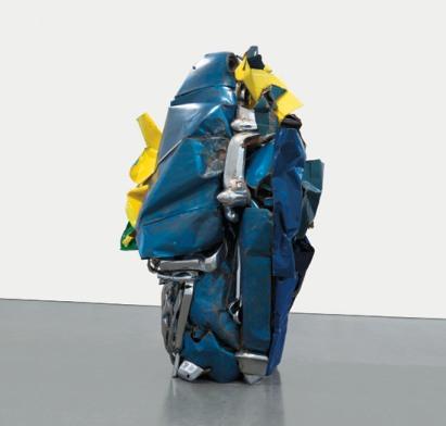 John Chamberlain Blue Sculpture