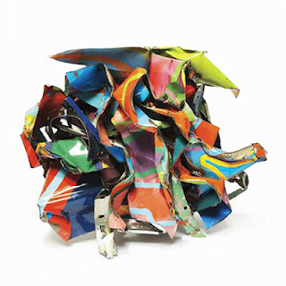 John Chamberlain Multi Colored Sculpture