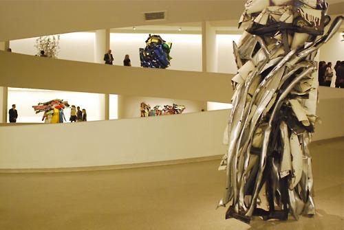 John Chamberlain White Sculpture