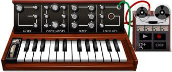 Moog Synthesizer Google Doodle