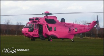 Hot Pink Helacopter