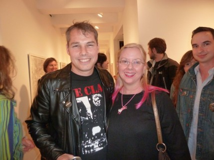 Shepard Fairey and Gail Worley