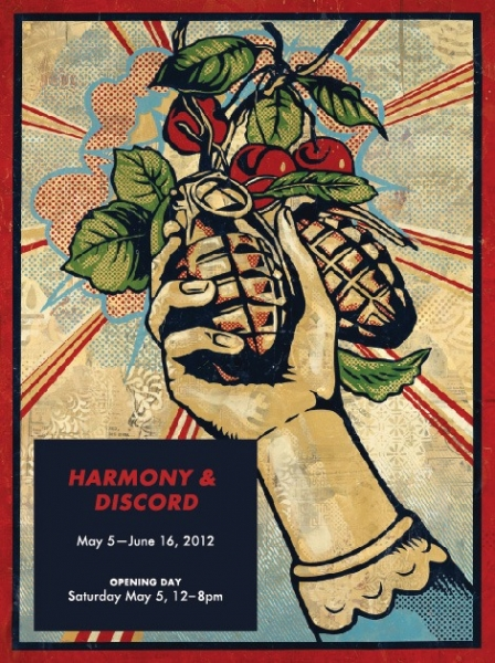 Shepard Fairey At Pace Prints Invite