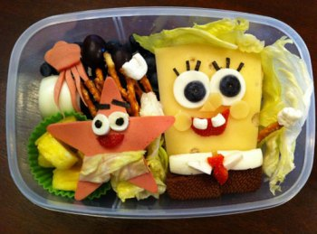 Spongebob Squarepants bento box