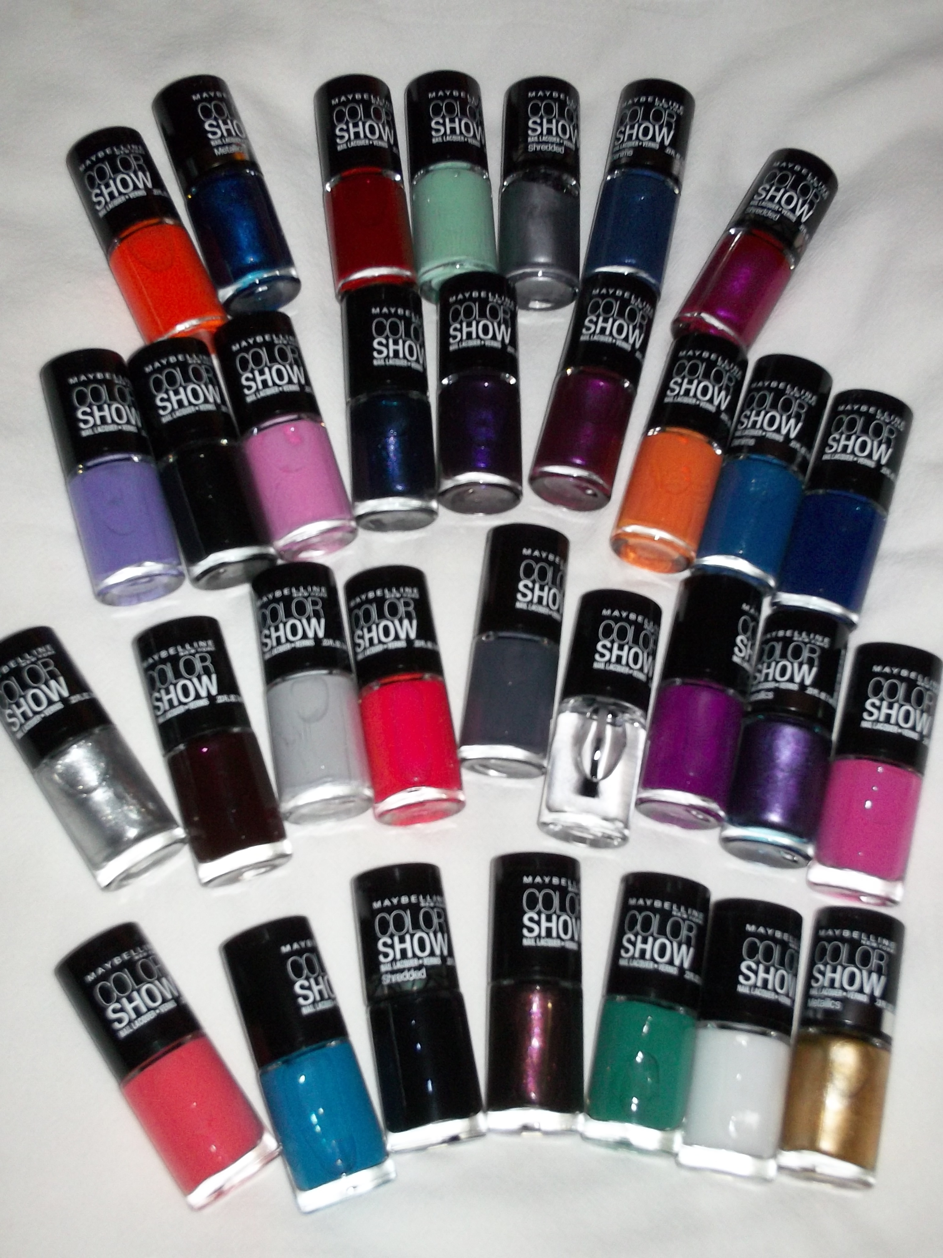 Maybelline Color Show Nail Lacquer: All You Need For A