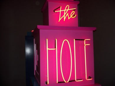 The Hole Neon Signage