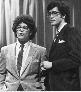 Al Franken and Tom Davis 1978