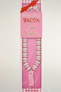 Bacon Candy Necklace in Wrapper