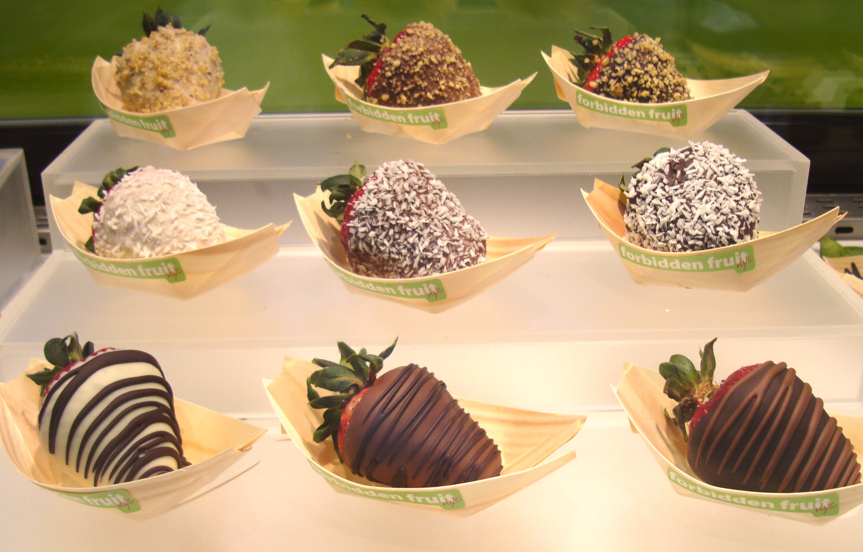 Chocolate Covered Fresh Fruit | The Worley Gig