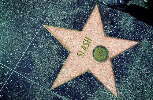 Slash Star Walk of Fame