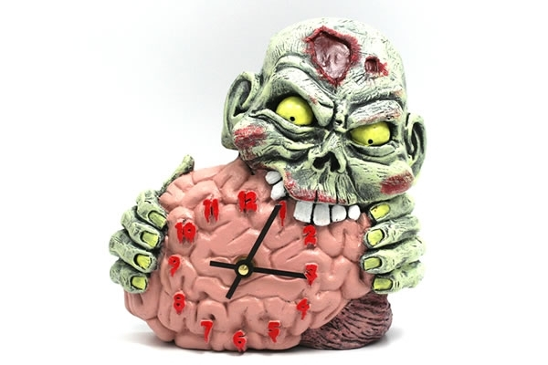 Hey Zombie Kids  What time is Zombie Eating Brains Art