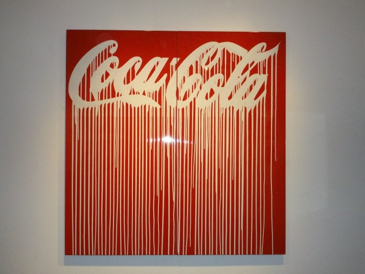 Cocal Cola Logo Drip By Zevs
