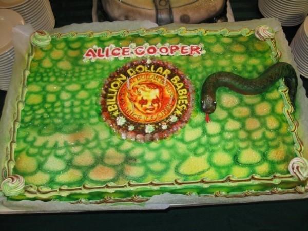 Alice Cooper Billion Dollar Babies Cake