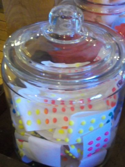 Jar of Candy Buttons