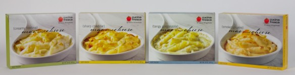 Cucina Fresca Mac and Cheese Four Varieties
