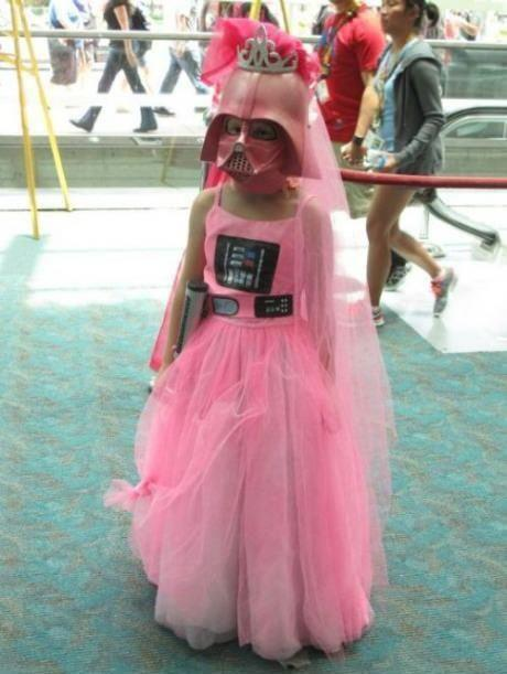 Lustiges zu StarWars Darth-vader-princess-girl