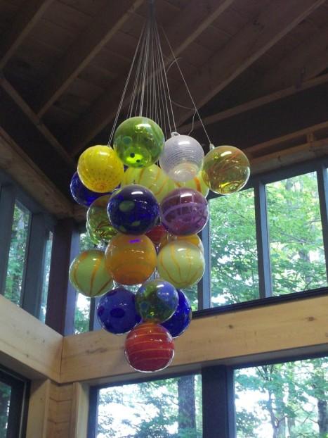 Glass Balloons Sculpture