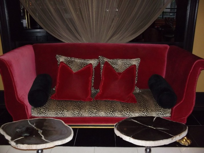 Grand Bohemian Red Sofa