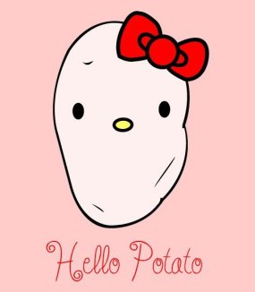 Hello Potato By Dima Drjuchin
