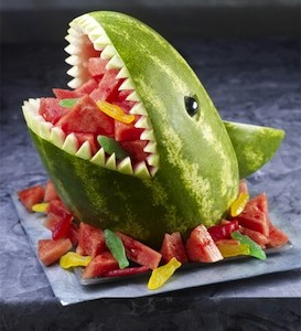 Shark Attack Watermelon