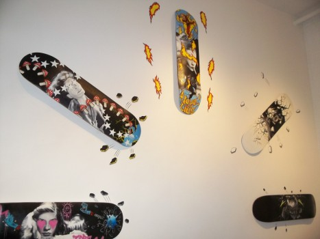 Assorted Skate Decks By Jason Bryant