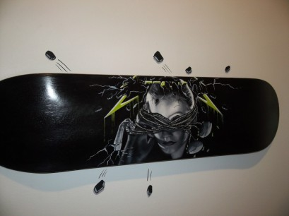 Skate Deck By Jason Bryant