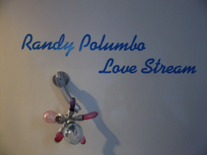 Love Stream By Randy Polumbo Sign