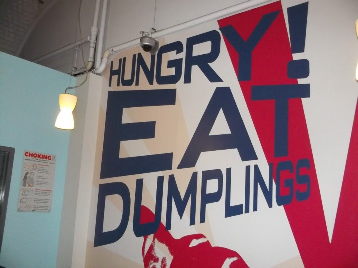 Hungry Eat Dumplings