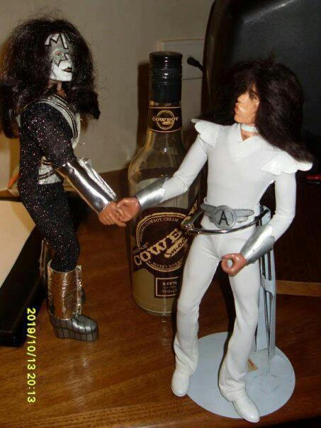 Ace Frehley and Punky Meadows Dolls