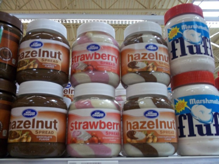 Faux Nutella & Fluff Spread
