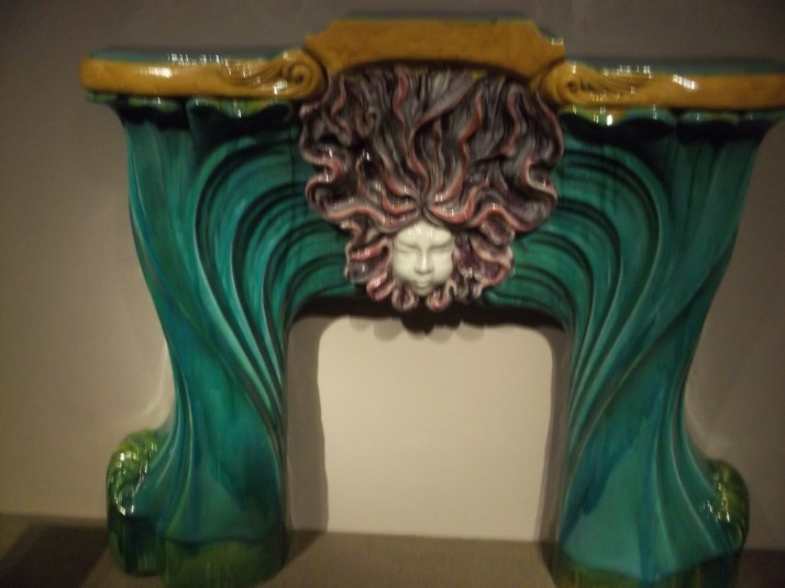 Art Deco Fireplace Front