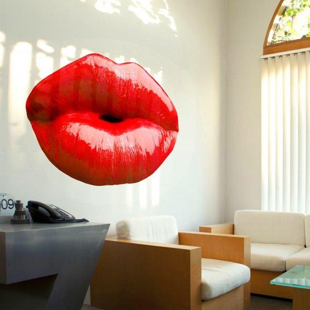Lips Wall Decal by Wallflower
