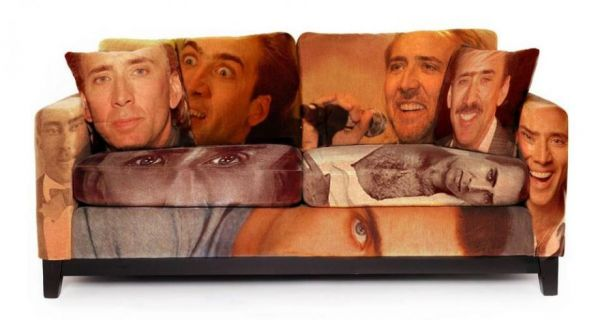 Nicholas Cage Couch