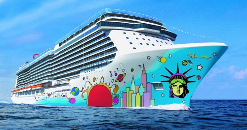 Norwegian Breakaway By Peter Max