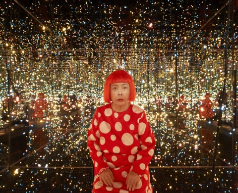 Yayoi Kusama Fireflies on The Water
