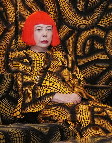 Yayoi Kusama Whitney Card