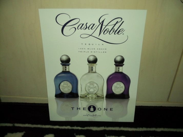 Casa Noble Tequila Flyer
