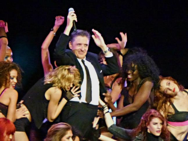 Craig Ferguson with Dancers
