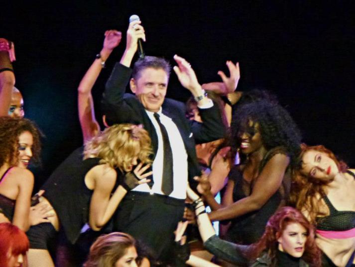Craig Ferguson with Dancers