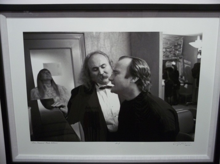 David Crosby and Phil Collins